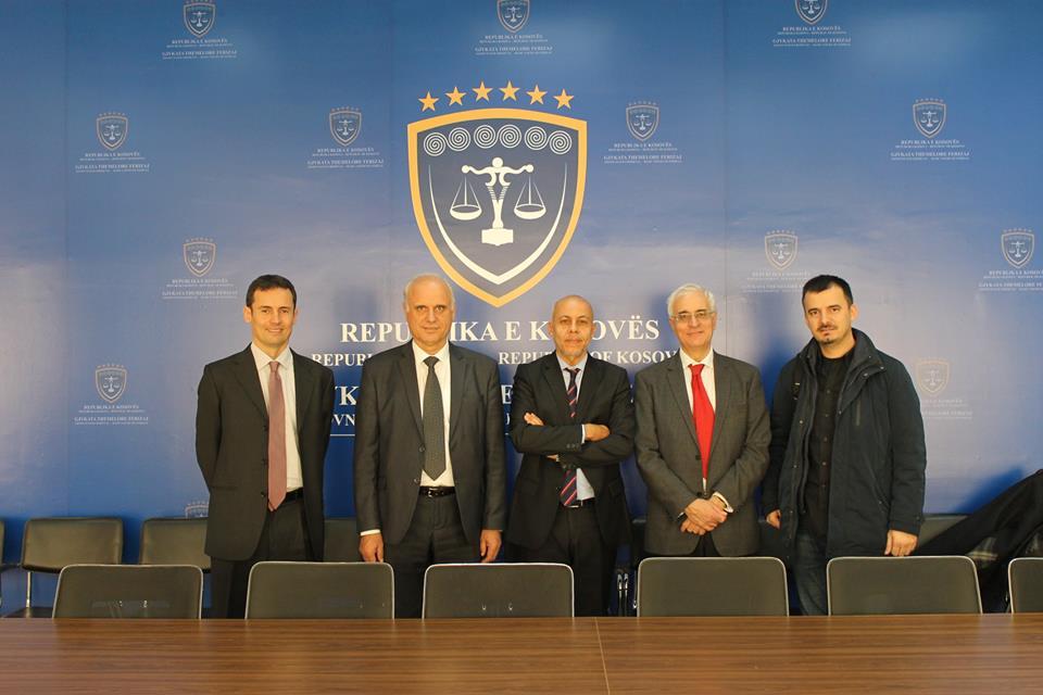 Ekspertë të BE-së vizitojnë Gjykatën Themelore në Ferizaj