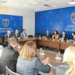 Një delegacion i Gjyqësorit të Maqedonisë, vizitoi  Gjykatën Themelore në Ferizaj