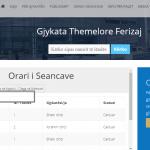 Abonohu në uebfaqen e Gjykatës Themelore në Ferizaj