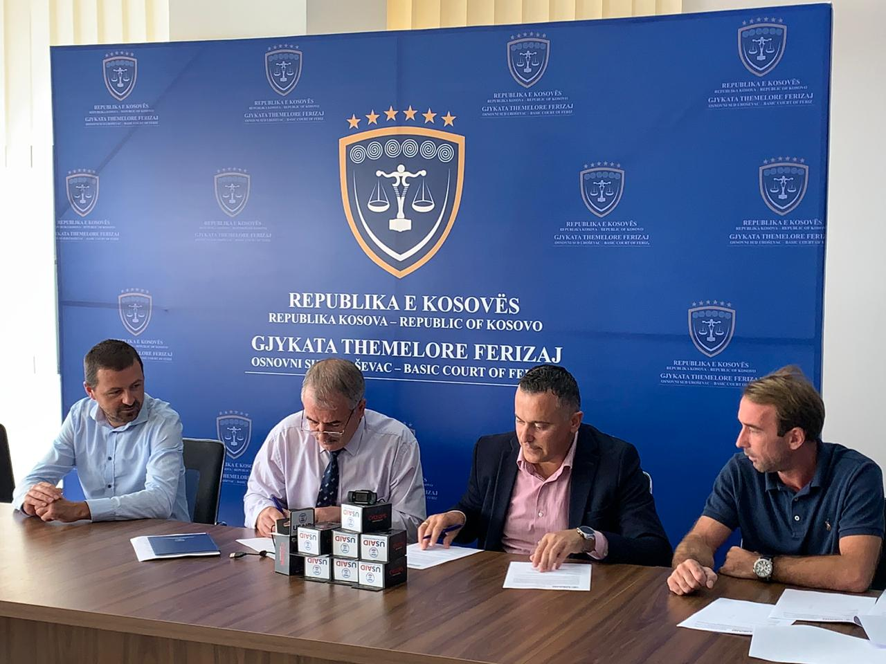 Gjykata Themelore në Ferizaj, tanimë e pajisur për seanca gjyqësore virtuale